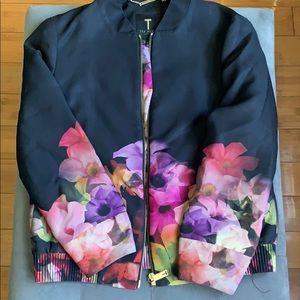 Ted Baker London Jackets & Coats - Printed Bomber & Pencil Skirt